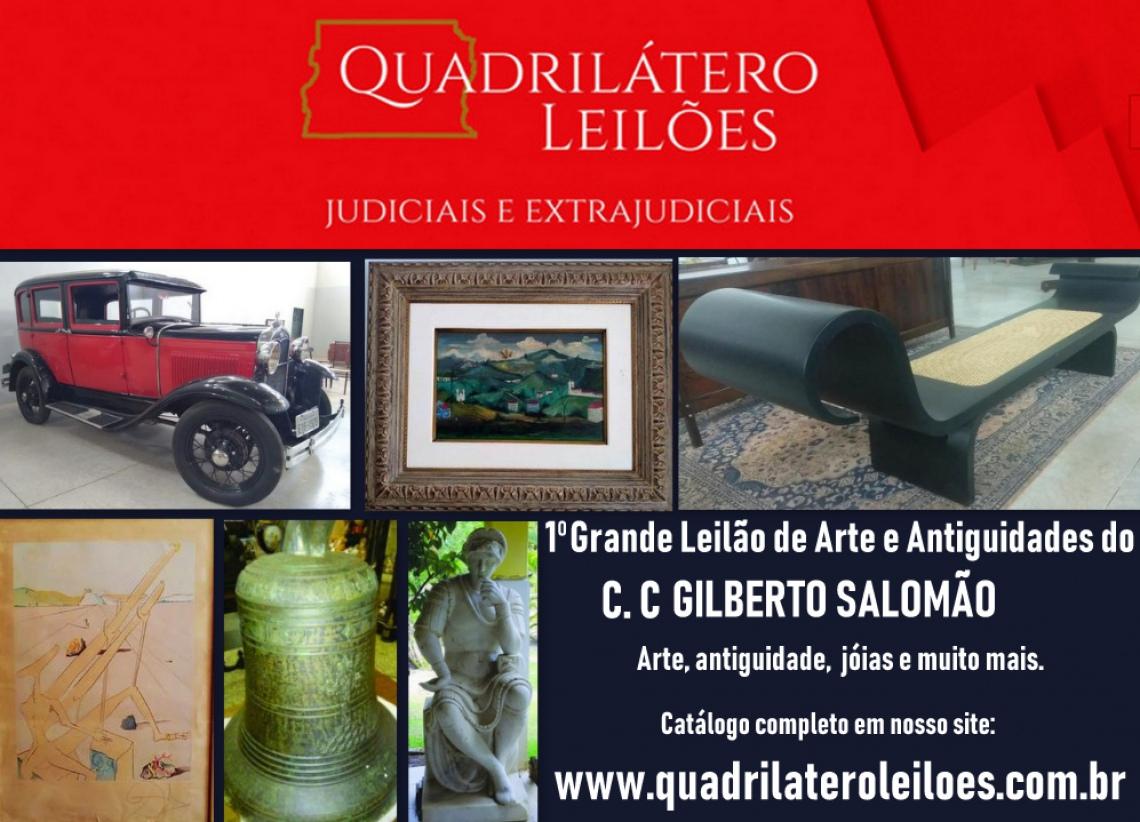 1º LEILÃO DE ARTE E ANTIGUIDADES DO C.C. GILBERTO SALOMÃO