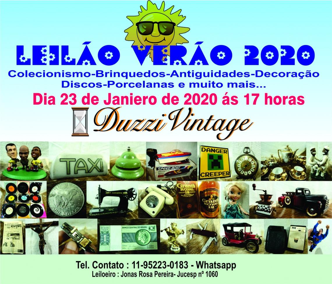 XVIII LEILÃO VERÃO 2020 - DUZZIVINTAGE- Colecionismo-Brinquedos-Antiguidades e muito mais...