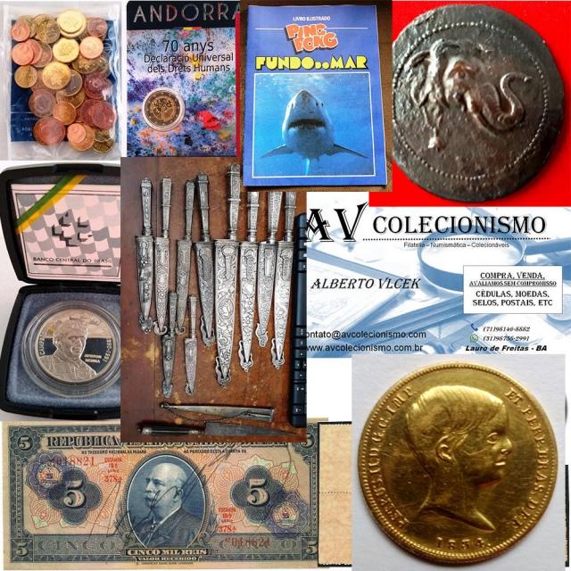 25º Leilão de Filatelia - Numismática - Colecionáveis