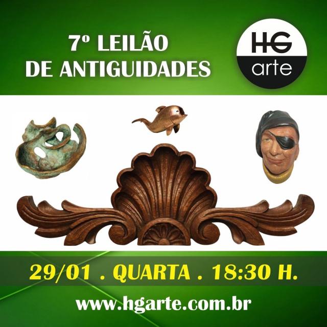 HG ARTE - 7º LEILÃO DE ARTE E ANTIGUIDADES