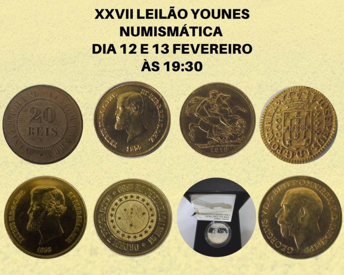 XXVII LEILÃO YOUNES NUMISMÁTICA