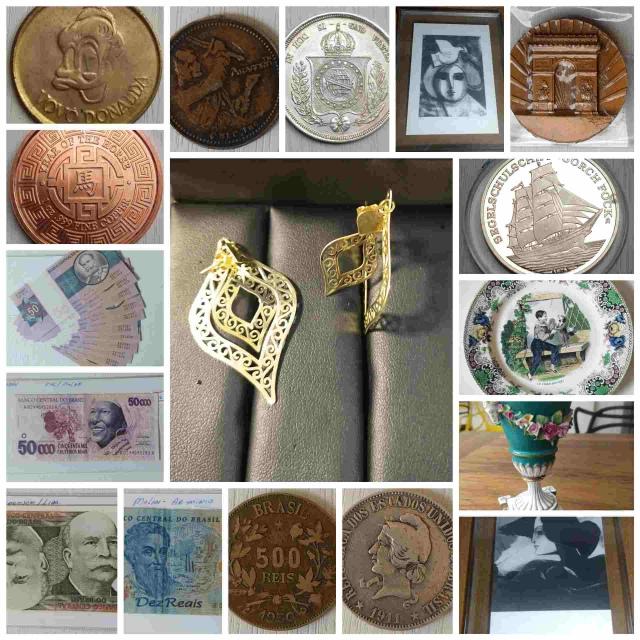 18º - LEILÃO NUMISTART  - Moedas, Cedulas, Token´s,  Arte, Antiguidades e joias