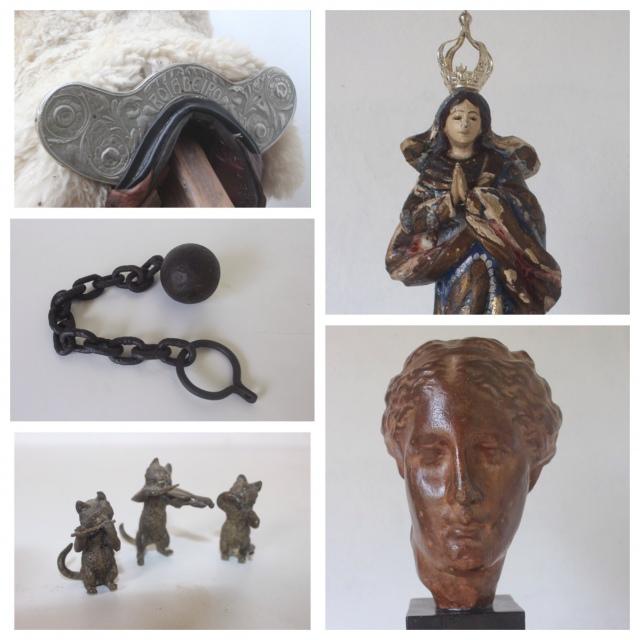 Leilão de antiguidades, colecionismo e peças únicas de Tiradentes