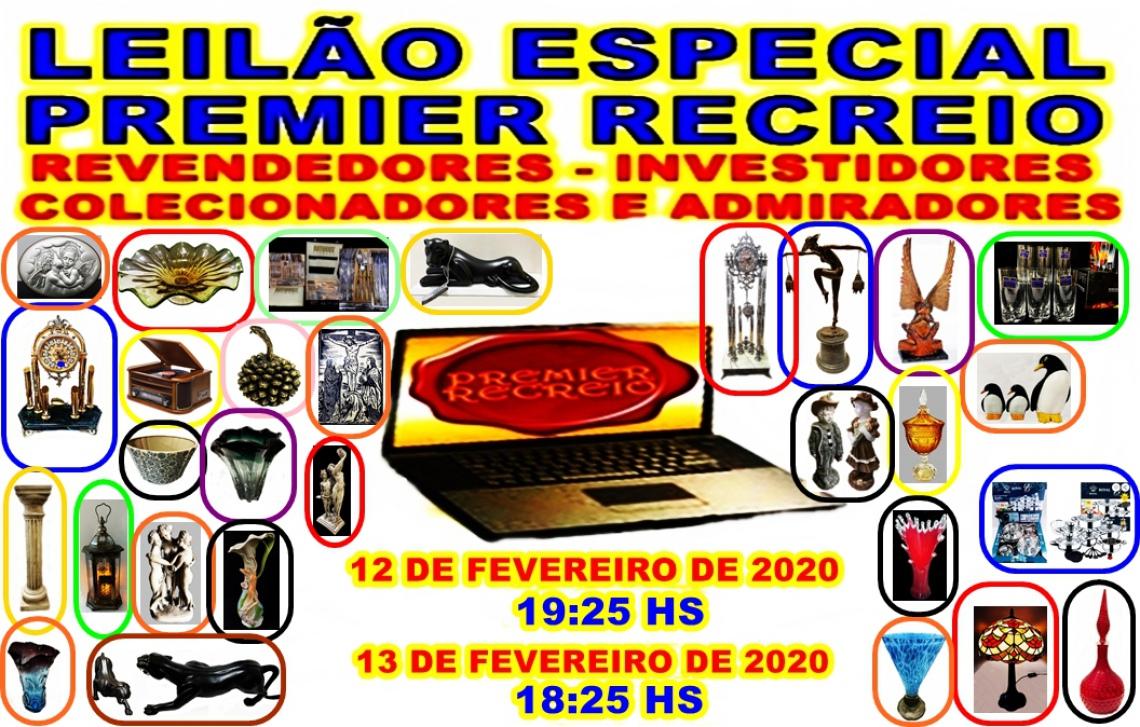 152º-LEILÃO PREMIER RECREIO-REVENDEDORES- INVESTIDORES- COLECIONADORES E INVESTIDORES.