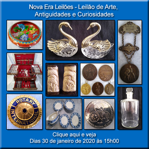 LEILÃO DE LIMPEZA DE ESTOQUE - DIA 30 DE JANEIRO DE 2020 ÁS 15H00