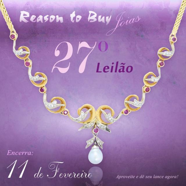 LEILÃO 14147 - 27º Leilão de Joias da Reason to Buy Joalheria