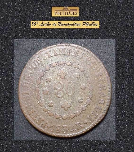 86º Leilão de Numismática Pbleilões