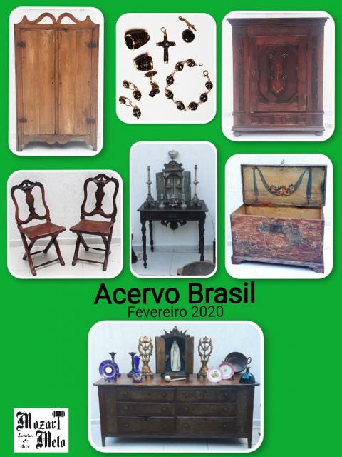 Leilão Acervo Brasil - Fevereiro/ 2020