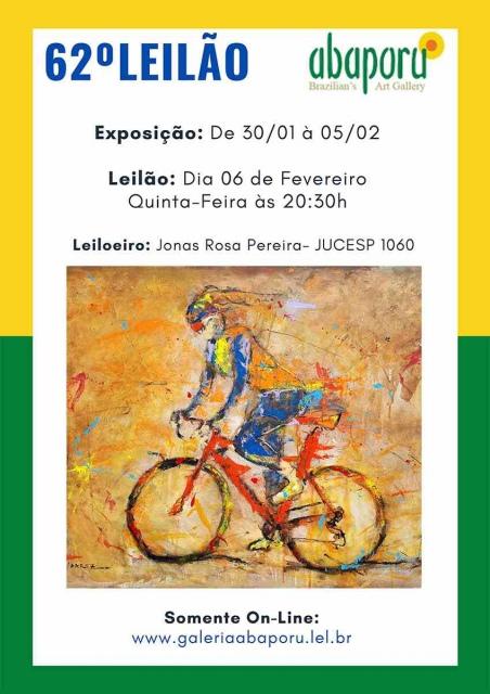 62º LEILÃO DA ABAPORU BRAZILIANS ART GALLERY