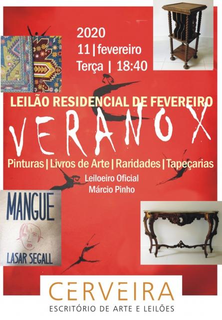 LEILÃO RESIDENCIAL VERANO X DE FEVEREIRO -  PINTURAS| LIVROS DE ARTE | RARIDADES | TAPEÇARIA