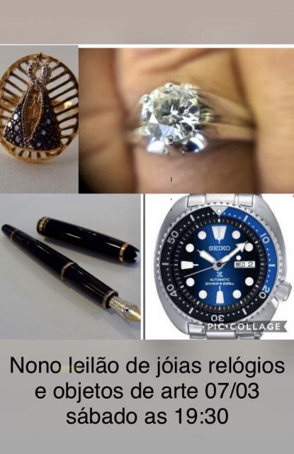 NONO LEILÃO DE JOIAS, RELOGIOS E OBJETOS DE ARTE .- JOIAS CARUSO.