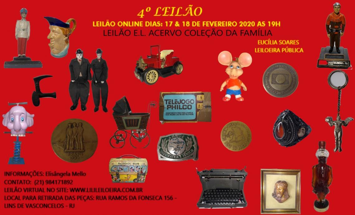 4 º Leilão E. L. Acervo Coleção da Família 14232