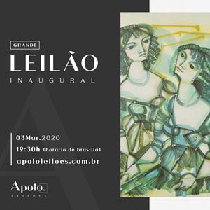 GRANDE LEILÃO INAUGURAL APOLO LEILÕES