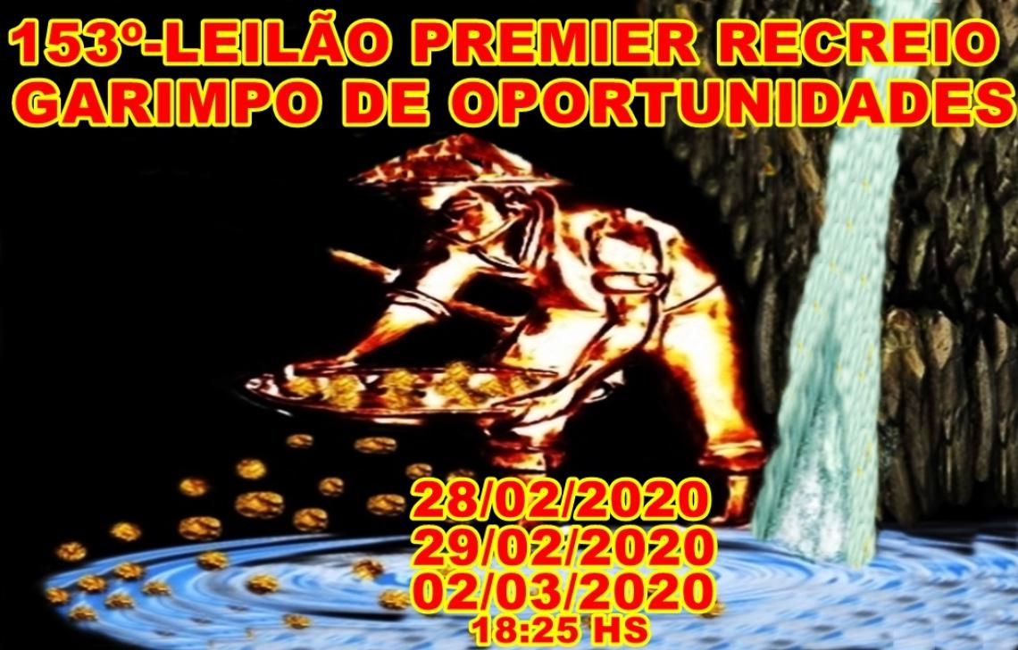 153º-LEILÃO PREMIER RECREIO