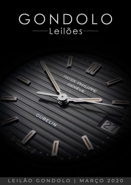 Leilão Gondolo - Relógios - Canetas - Março 2020