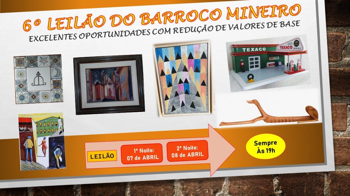 4º LEILÃO BARROCO MINEIRO - DIA INTERNACIONAL DA MULHER