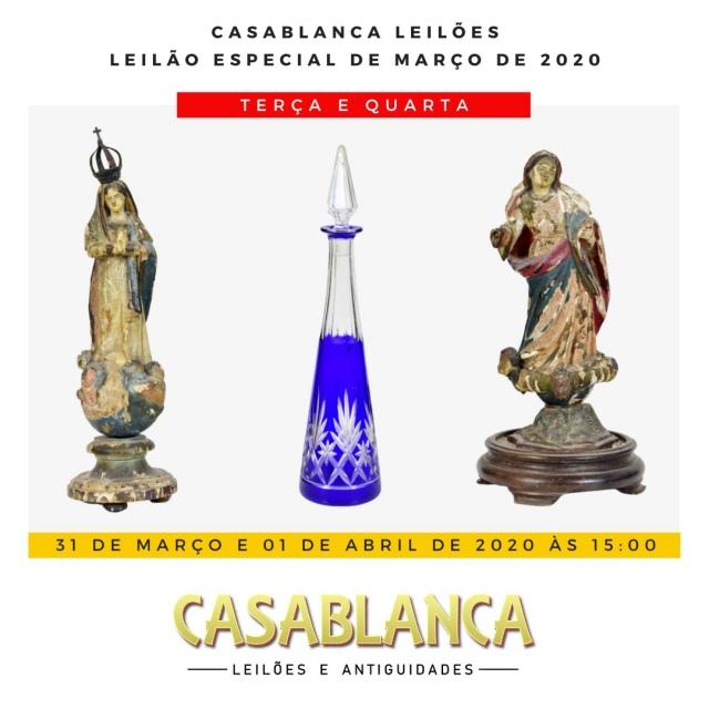 LEILÃO CASABLANCA - Março DE 2020