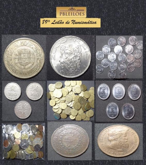 89º Leilão de Numismática Pbleilões