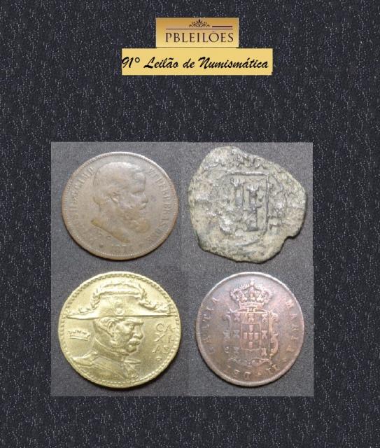 91º Leilão de Numismática Pbleilões