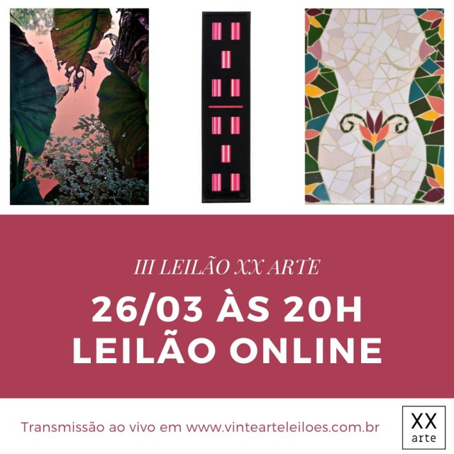 III LEILÃO XX ARTE