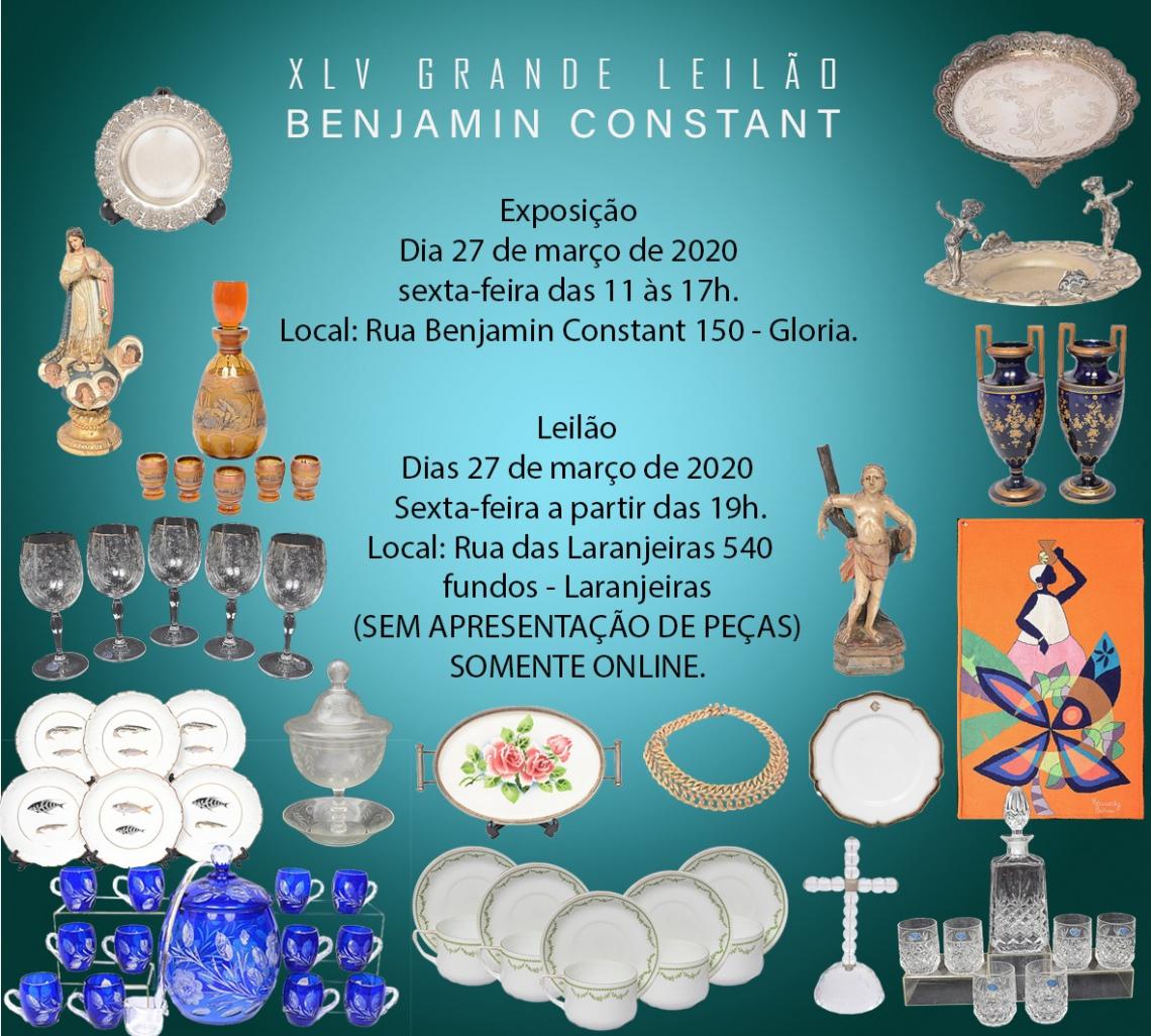 XLV GRANDE LEILÃO BENJAMIN CONSTANT