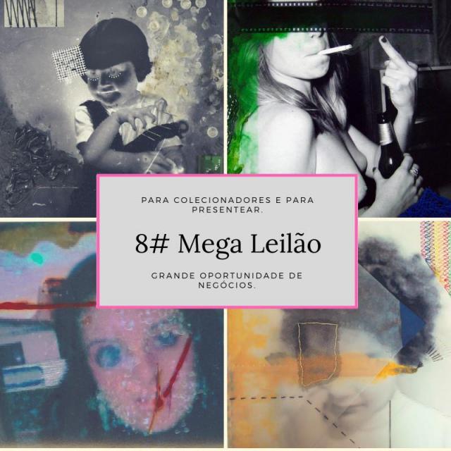 8# MEGA LEILÃO DE ARTE E TELEFONES CELULAR.