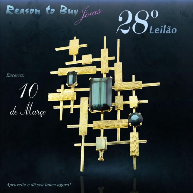 LEILÃO 14492 - 28º Leilão de Joias da Reason to Buy Joalheria