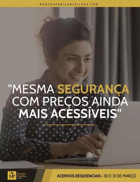 LEILÃO DE ACERVOS RESIDENCIAIS