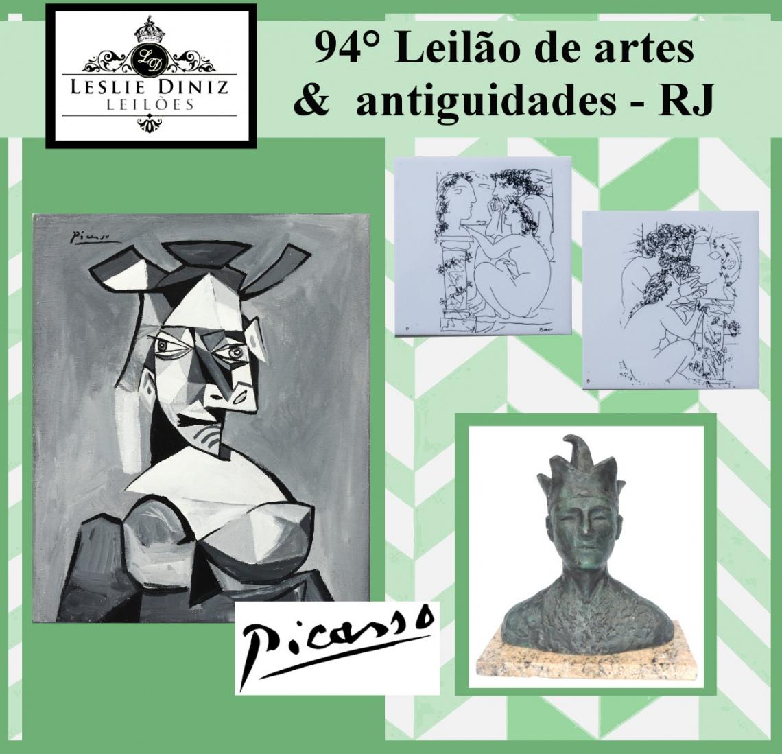 94º IMPORTANTE  LEILÃO DE ARTE & ANTIGUIDADES - RJ