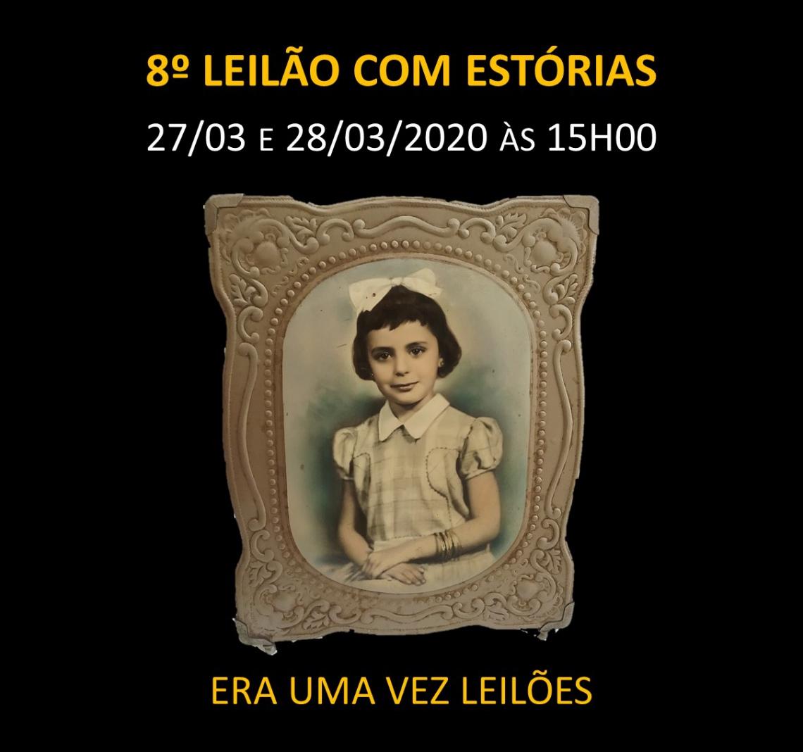 8º LEILÃO COM ESTÓRIAS - 27 e 28/03/2020 às 15h00