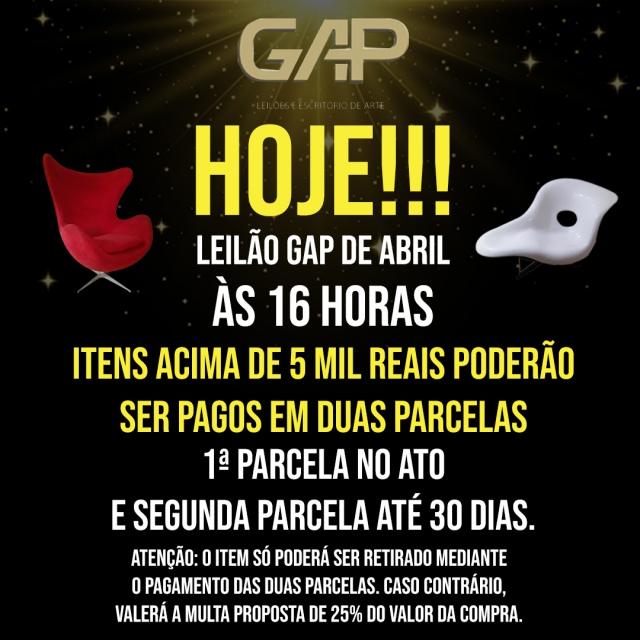 LEILÃO GAP DE ABRIL