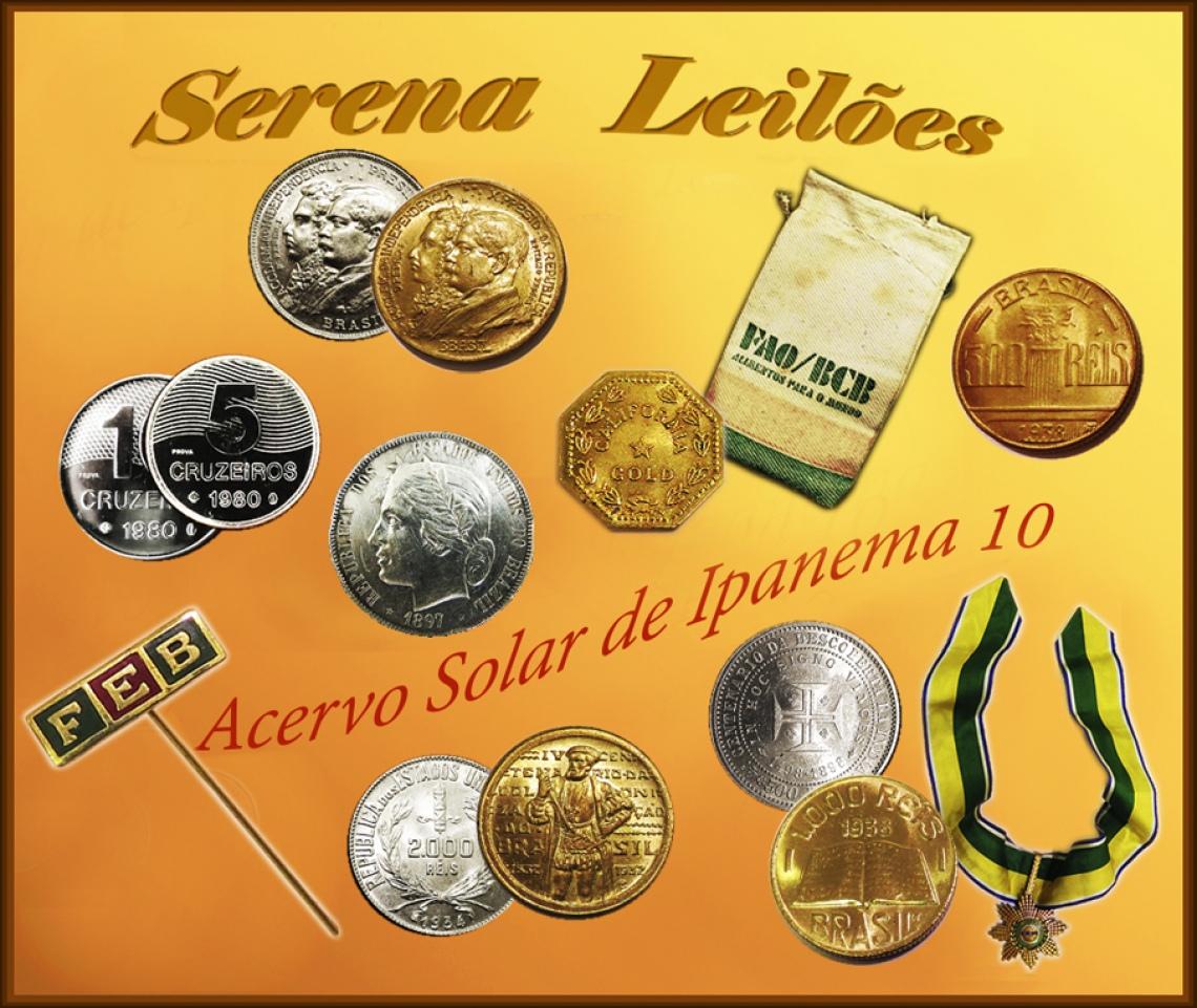 Leilões Serena - Solar de Ipanema X - Numismática