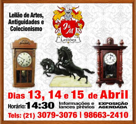 J&M LEILÃO DE ARTE E ANTIGUIDADES