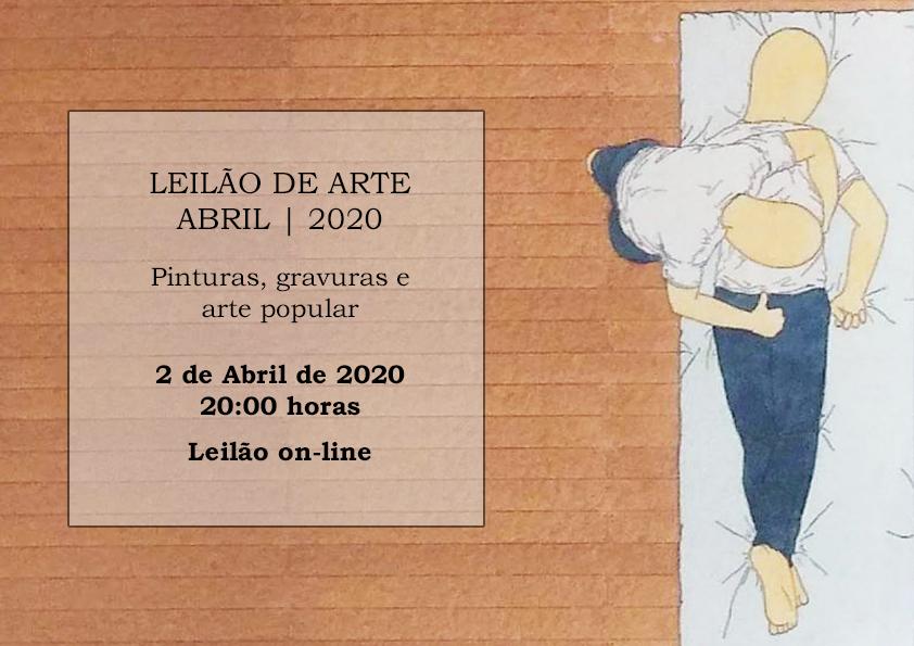LEILÃO DE ARTE - ABRIL 2020