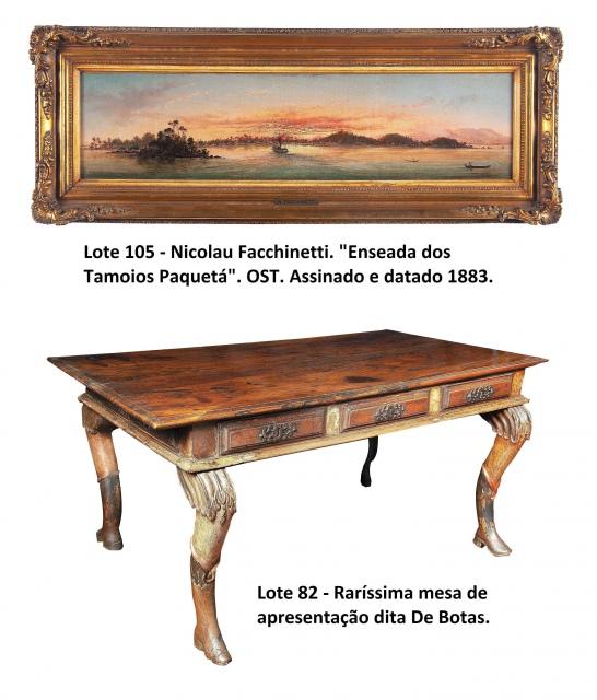 Importante Leilão de Arte e Antiguidades - 05 a 07/10/2020