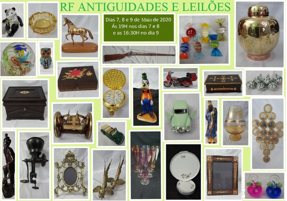 RF LEILÕES - GRANDE LEILÃO DE ARTES E ANTIGUIDADES