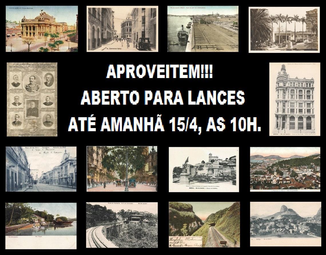 IV LEILÃO DE ANTIGOS CARTÕES BRASILEIROS.