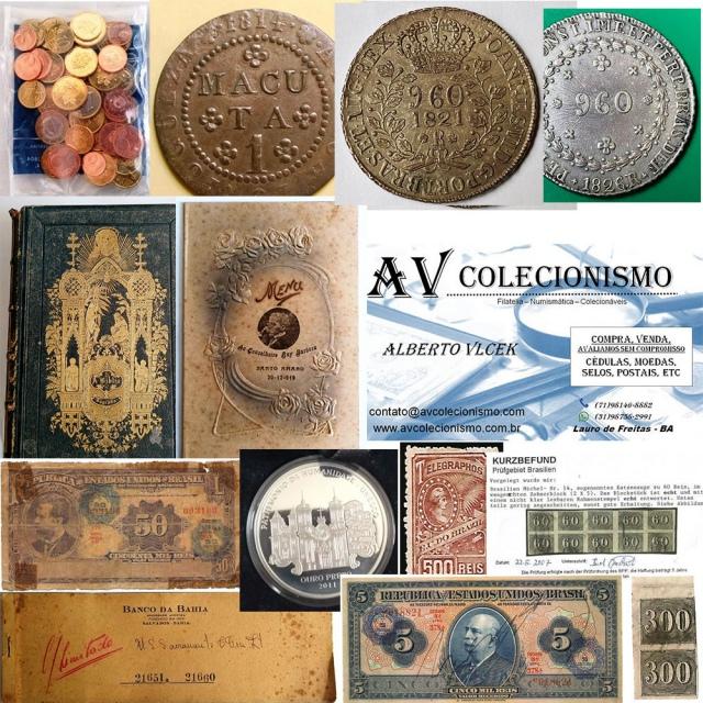 27º Leilão - AVCO - Filatelia  - Numismática - Colecionáveis