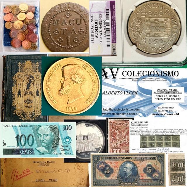 28º Leilão - AVCO - Filatelia  - Numismática - Colecionáveis