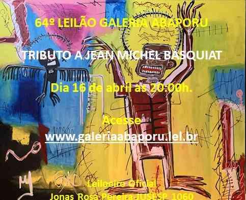 64º LEILÃO DA GALERIA ABAPORU.