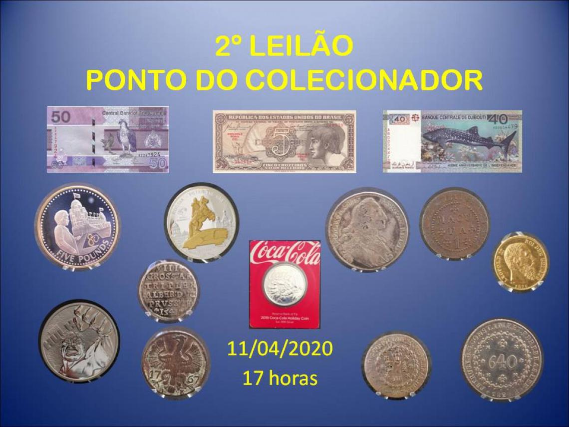 2º LEILÃO PONTO DO COLECIONADOR