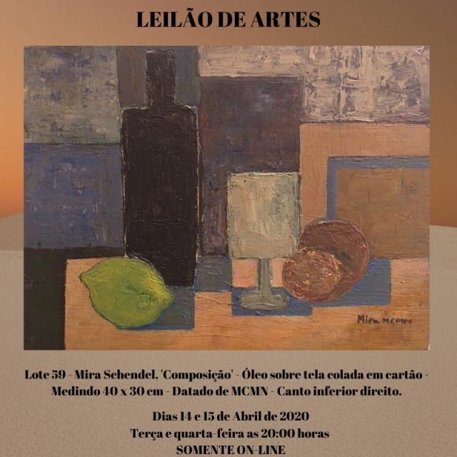 LEILÃO DE ARTES