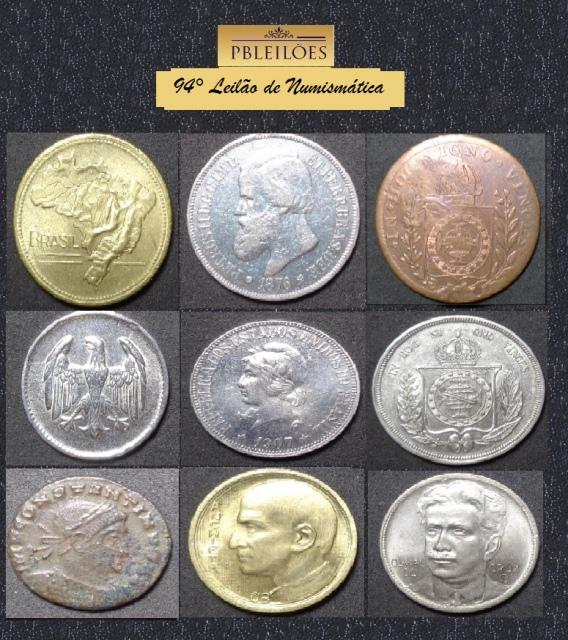 94º Leilão de Numismática Pbleilões