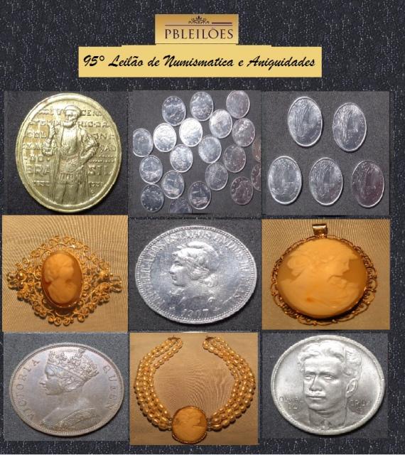 95º Leilão de Numismática e Antiguidades Pbleilões
