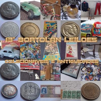 13º LEILÃO BORTOLAN DE COLECIONÁVEIS E ANTIGUIDADES