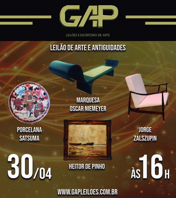 LEILÃO DE ARTE E ANTIGUIDADES Abril parte 2