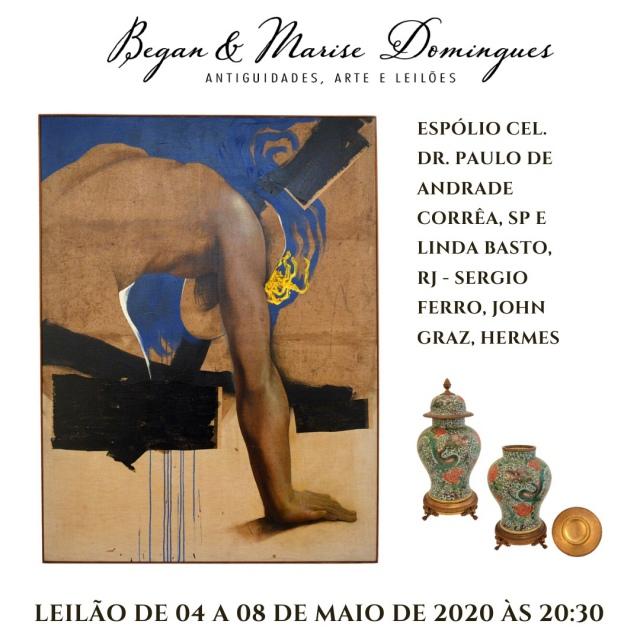 Espólio Cel. Dr. Paulo de Andrade Corrêa, SP  e Linda Basto, RJ - Sergio Ferro, John Graz, Hermes
