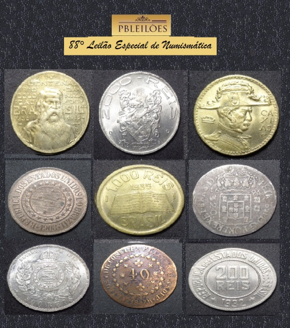 88º Leilão Especial de Numismática Pbleilões