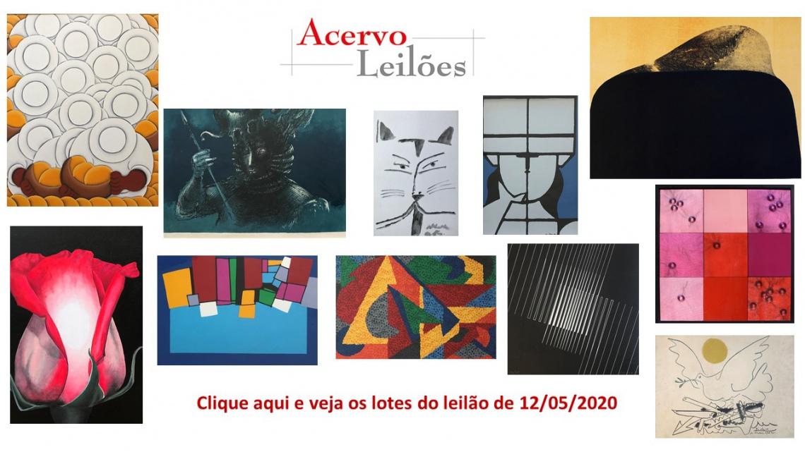 LEILÃO DAS BOAS COMPRAS - ACERVO LEILÕES  - 12/05/2020 - 20h00