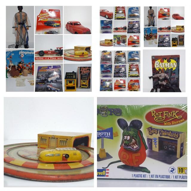 Leilão de Brinquedos Antigos - Colecionáveis e Miniaturas